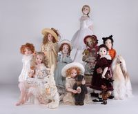 Hildegard Guenzel's Doll Collection 2010